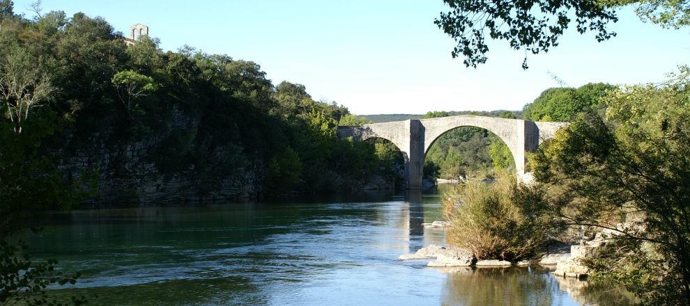 rec ALENTOURS Pont de Saint Etienne d'Issensac